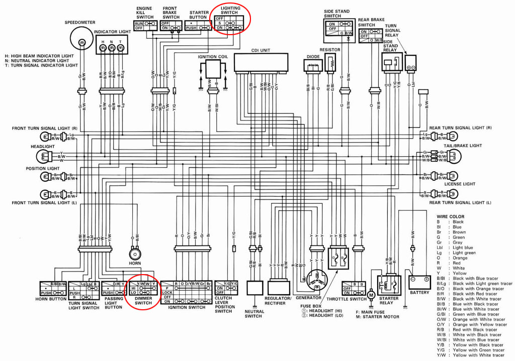 cdi wiring diagram images suzuki king quad wiring diagram furthermore honda gl500 wiring diagram